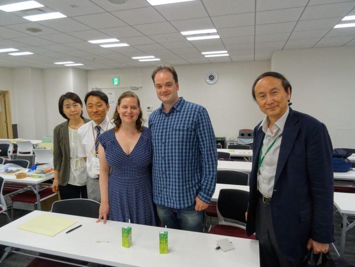 At the LAM Forum meeting, Tokyo, Japan