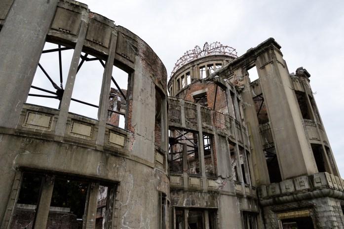 A-Bomb Dome, Hiroshima, Japan