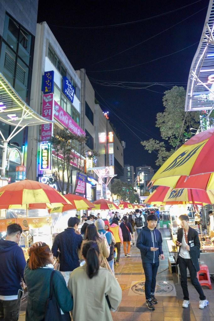 Biff Square, Busan, South Korea