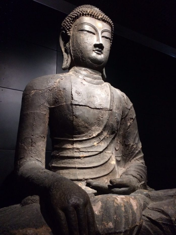 Buddha at the National Museum in Seoul, South Korea