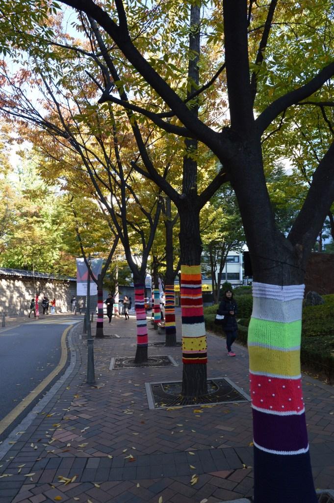 2016 Tree Hug on Deoksugung Palace Stone-wall Road, Seoul, South Korea