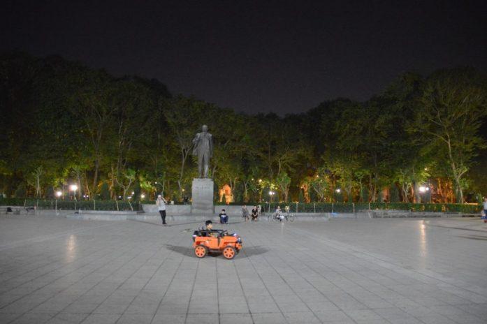 Lenin Park in Hanoi, Vietnam