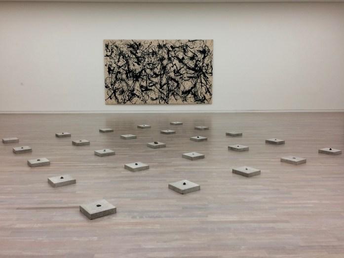 Pollock in K20, Kunstsammlung Nordrhein-Westfalen, Düsseldorf, Germany