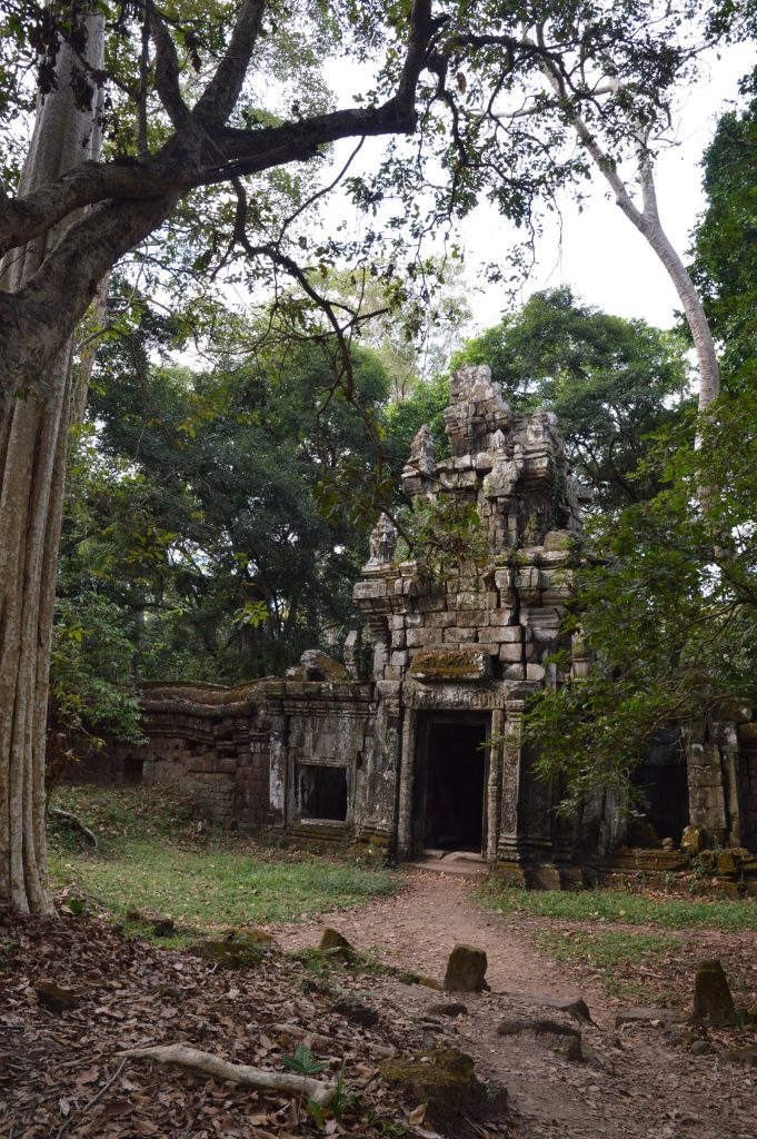 Small gate near Phimeanakas, Angkor Archaeological Park, Cambodia