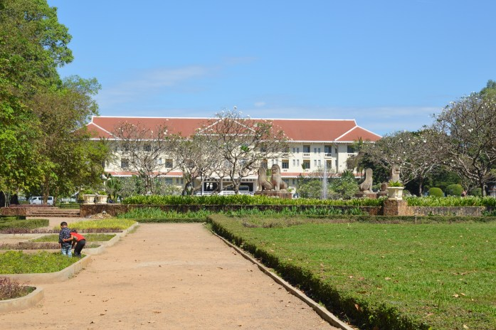 Royal Residence and Gardens in Siem Reap, Cambodia