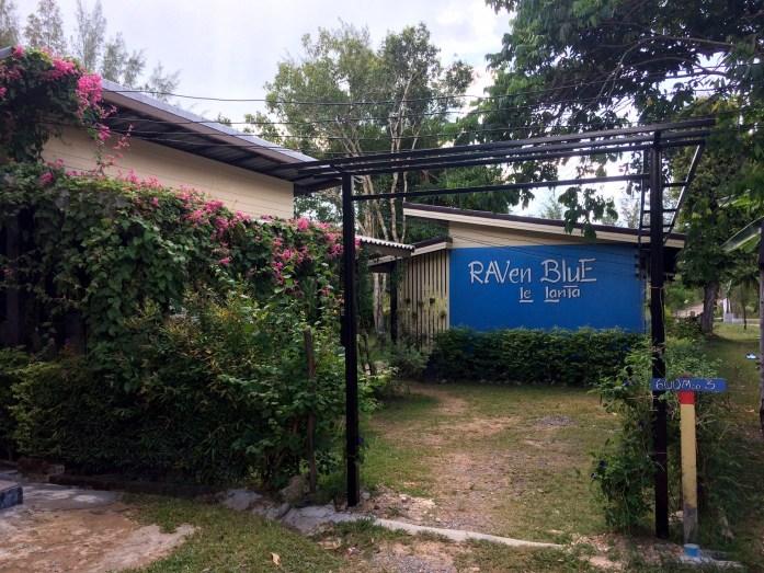 Raven Blue on Ko Lanta, Thailand