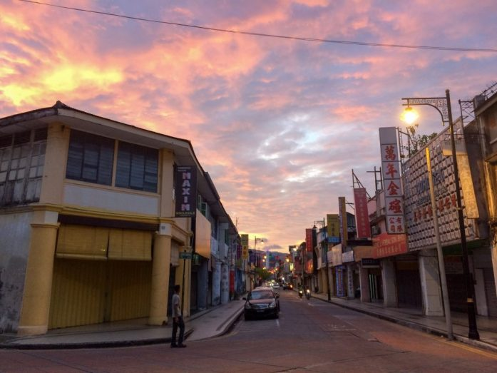 Sunset in George Town, Malaysia