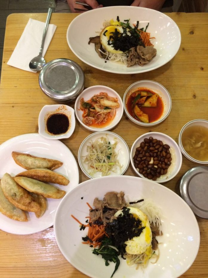 Korean lunch, Manna Story, Singapore