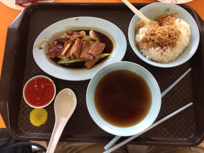 Heng Gi Goose and Duck Rice, Tekka Centre, Singapore