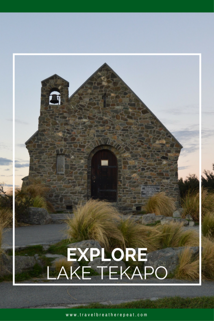 Explore Lake Tekapo in New Zealand