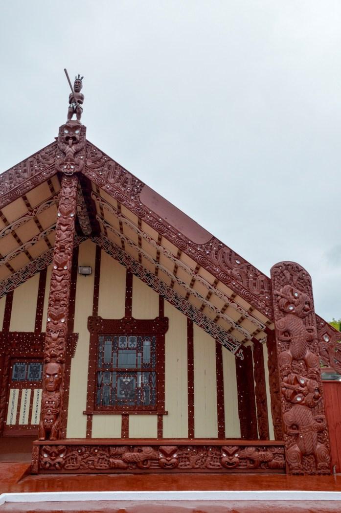 Te Papaiouru Marae conference center, Rotorua, New Zealand