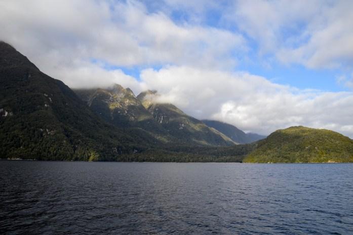 Lake Manapouri, Fjordland, New Zealand
