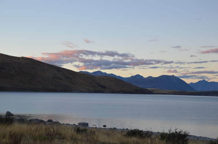 Sunset, Lake Tekapo, New Zealand