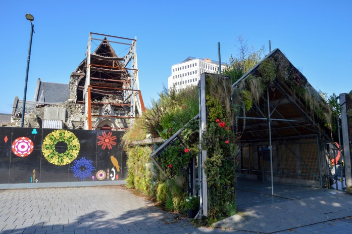 Remains of ChristChurch Cathedral, Christchurch, New Zealand