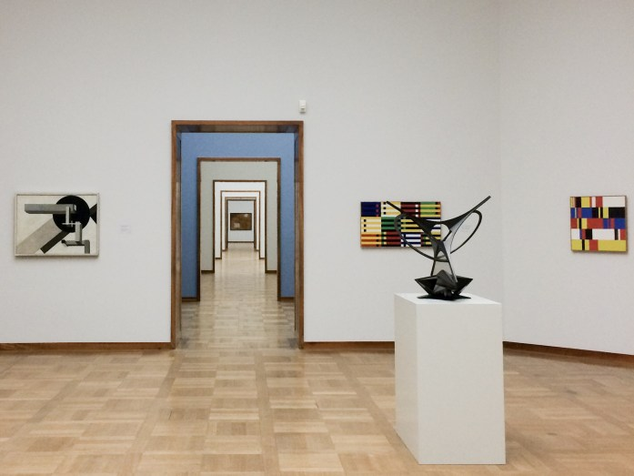 Mondrian room, Kunstmuseum, Basel, Switzerland