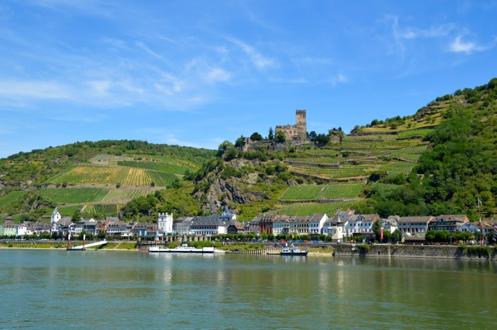Rhine River ferry, Germany