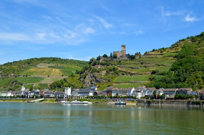 Rhine River ferry, Germany