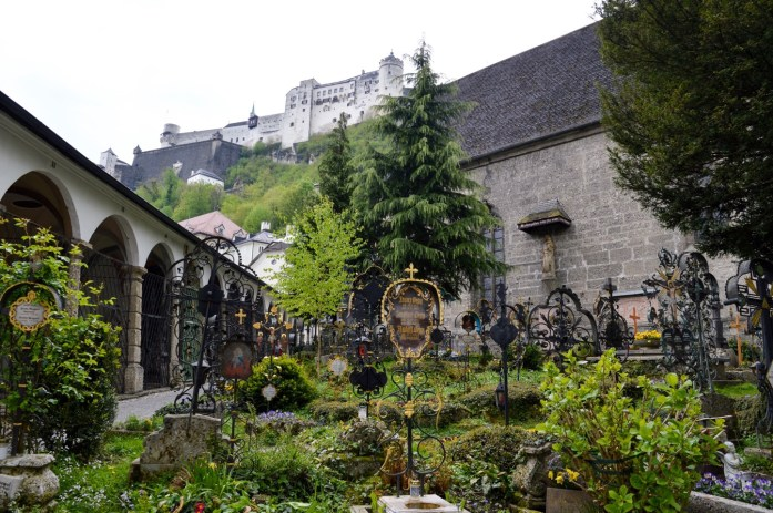 Petersfriedhof cemetery, Salzburg, Austria