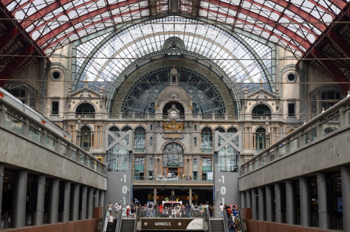 Antwerp Central Train Station / Antwerpen-Centraal, Belgium
