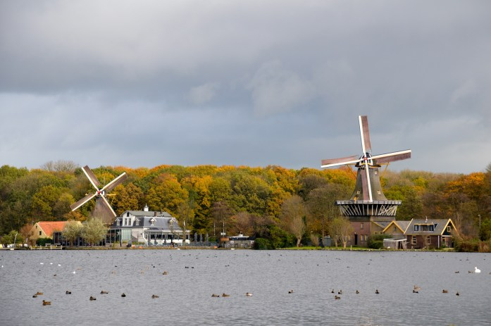 Windmills, Kralingse Bos, Rotterdam, the Netherlands