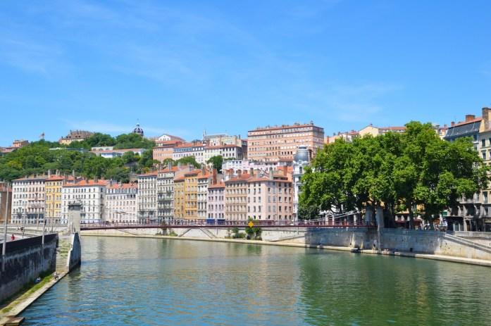 Saône River, Lyon, France