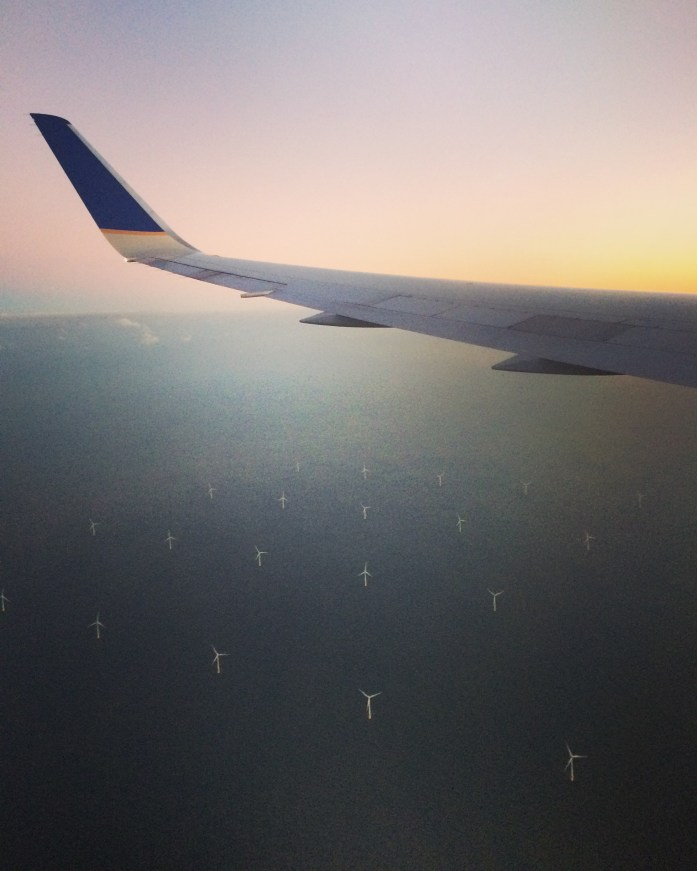 North Sea wind farm, the Netherlands