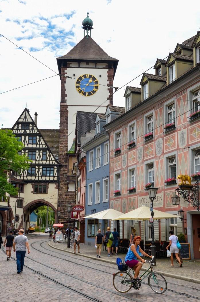 Schwabentor, Freiburg, Germany