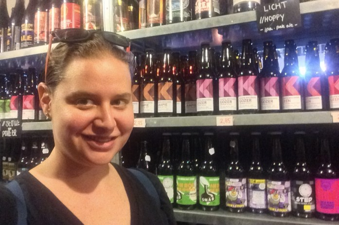 Kaapse Brouwers bottle shop, Fenix Food Factory, Rotterdam, the Netherlands