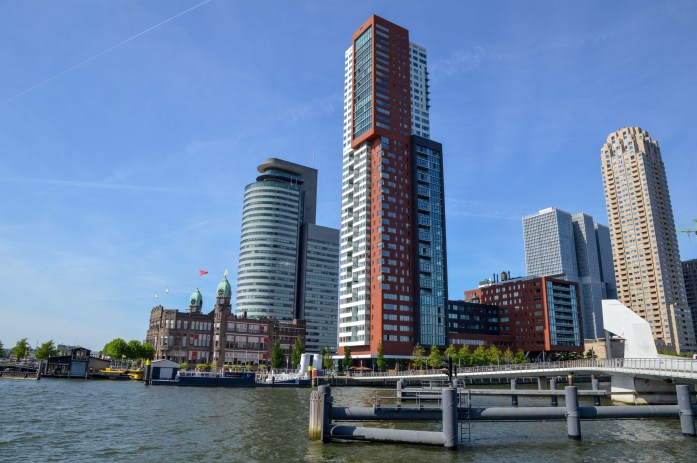 View of Hotel New York from Fenix Food Factory, Rotterdam, the Netherlands