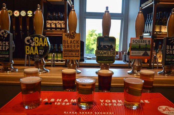 Tasting, Black Sheep Brewery, Masham, North Yorkshire, UK