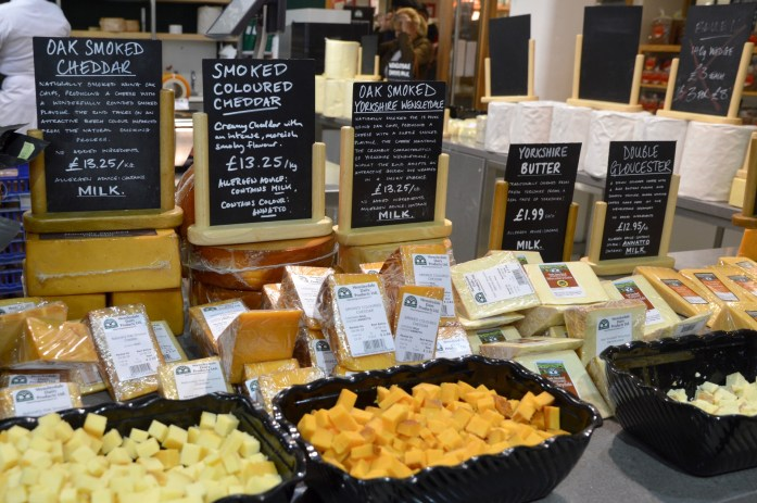 Wensleydale cheese, Wensleydale Creamery in Hawes, North Yorkshire, UK