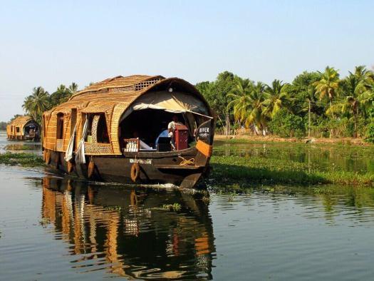 Houseboat in Kerala India