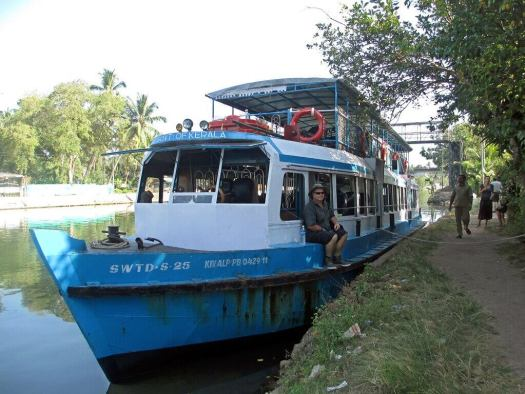 Government ferry at Kerala backwaters