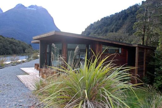 Chalet at Milford Sound New Zealand