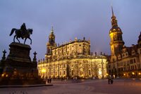 Dresden/Elbe: Theaterplatz