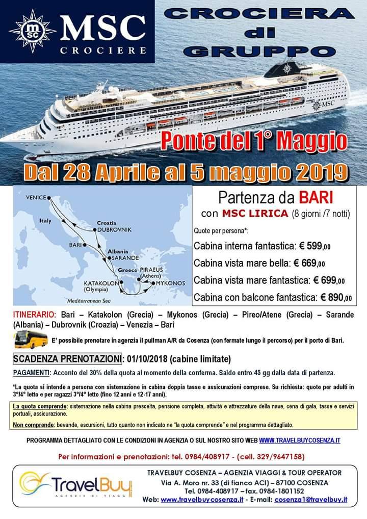 Viaggi Di Gruppo Travelbuy Cosenza Agenzia Viaggi
