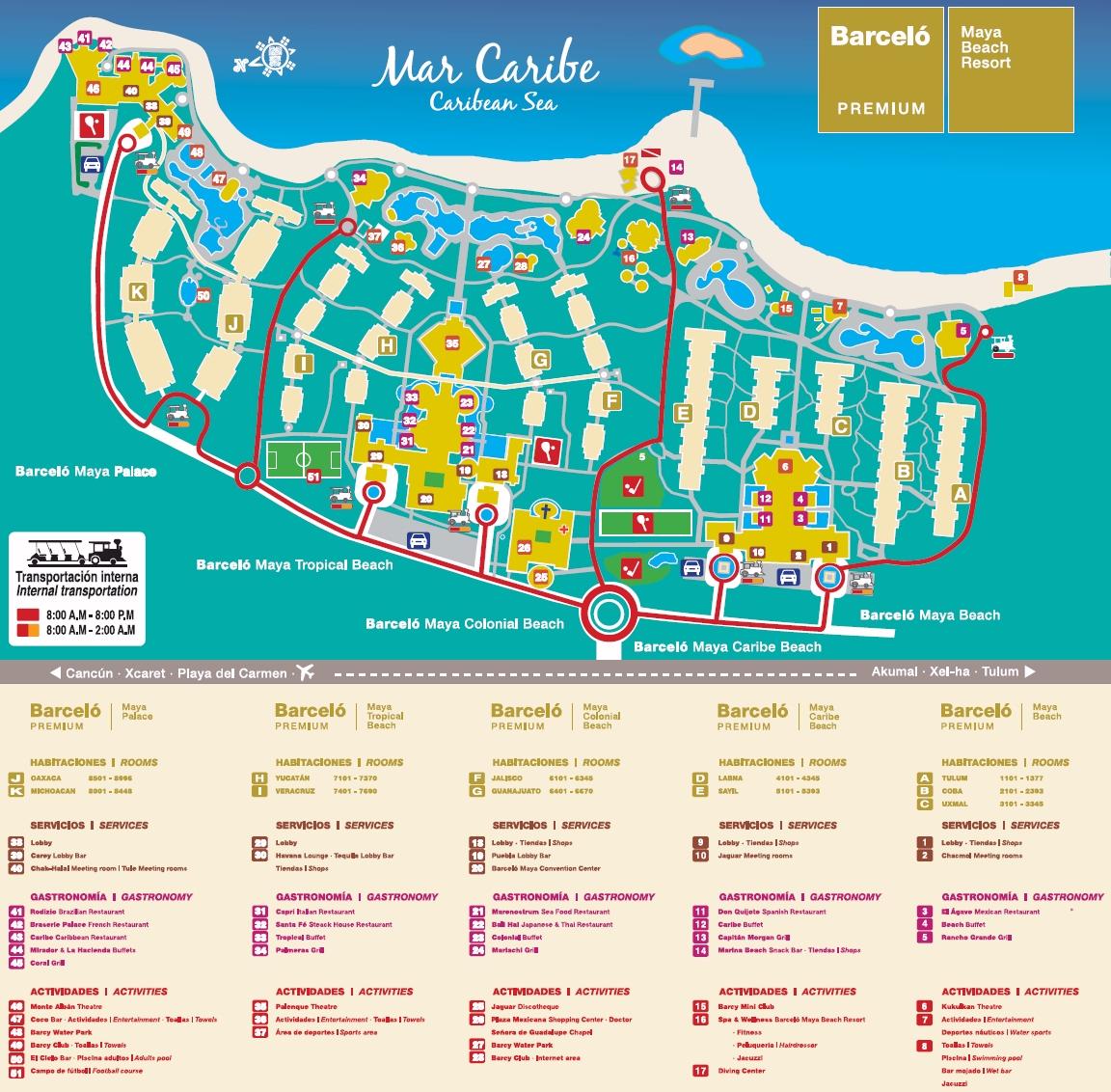 Barcelo Maya Colonial Amp Tropical Beach Travel By Bob