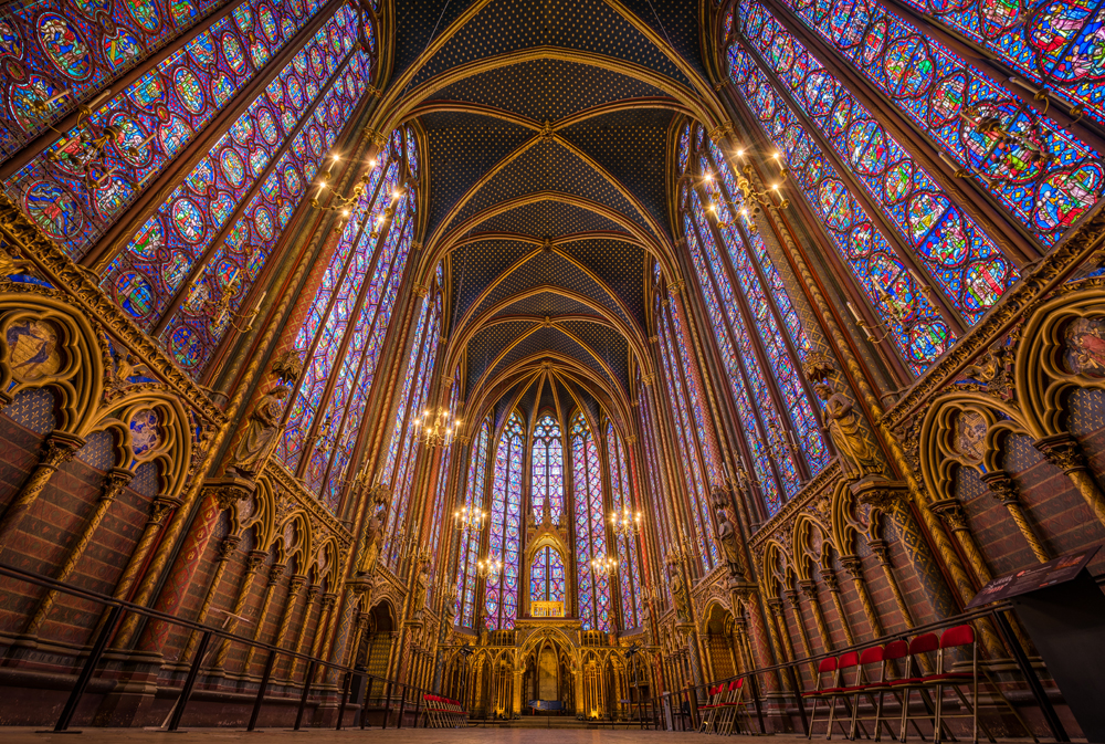 Resultado de imagen de Sainte Chapelle París