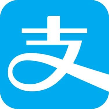 Alipay logo for China