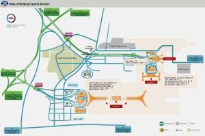 Beijing Capital Airport Maps: Terminal 1, 2, 3, Arrival