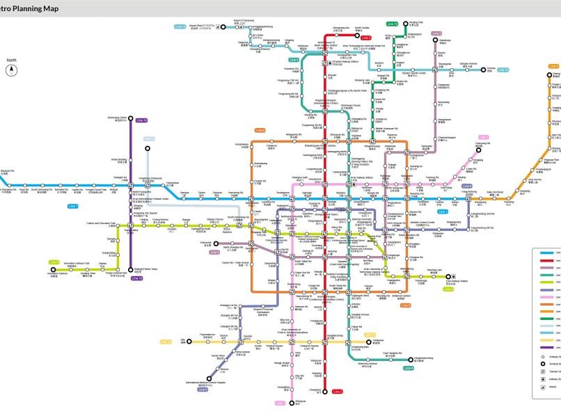 Xian Subway Map.Xian Travel Guide Pdf Tourismstyle Co