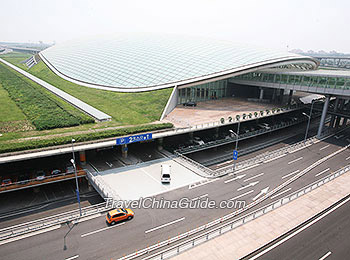 Beijing Capital International Airport  Terminal 1  2  3  Airlines Beijing Airport Express Train Terminus