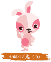 China Zodiac Animal - Rabbit
