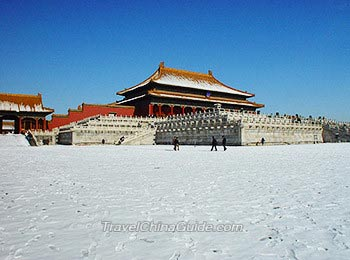 Beijing Weather  7 Day Forecast  Best Time to Visit  Climate by Month Forbidden City in Winter