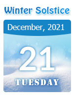 When is the Winter Solstice? 2020 Date on December 21