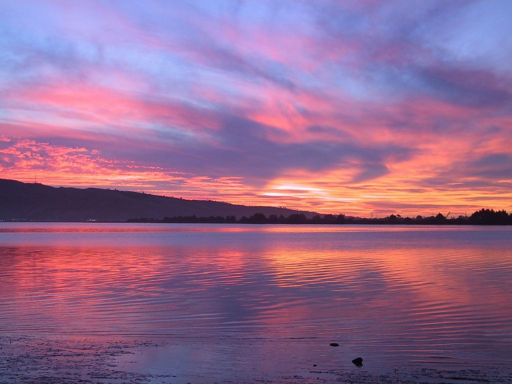 Sonnenuntergang Mecklenburgische Seenplatte