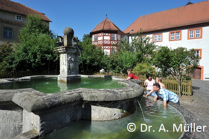 Brunnen Tann Rhön