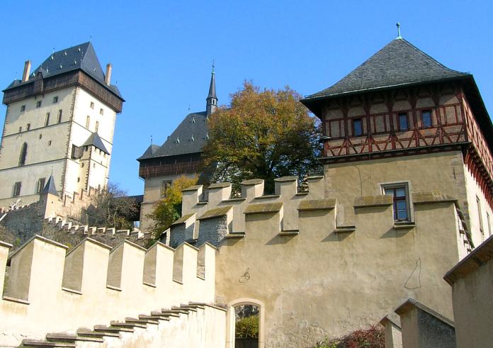 Burgenstraße Burg Karlstein