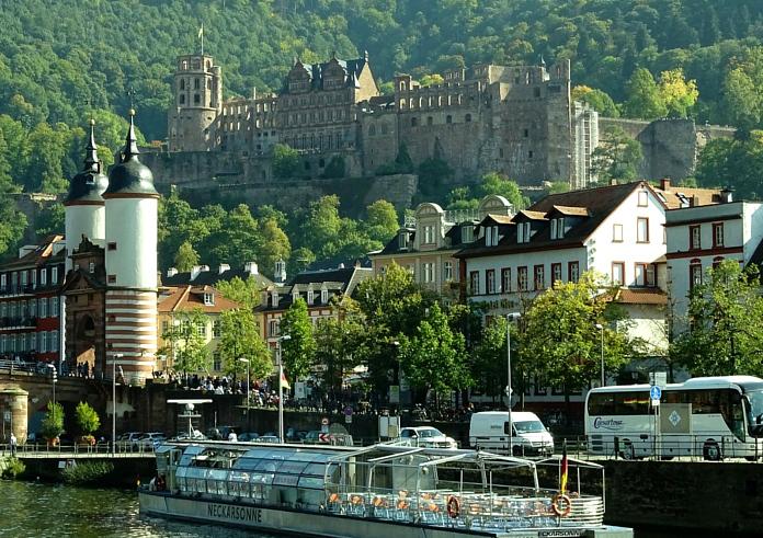 Burgenstraße Heidelberg Heidelberger Schloss Alte Brücke