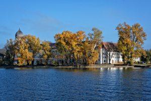 Chiemsee im Herbst